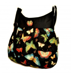 Kabelka Iris Butterfly Black