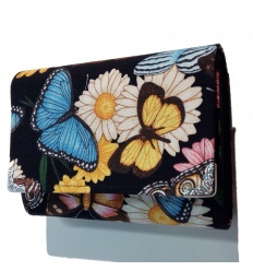 Peněženka Modrý motýl 13cm