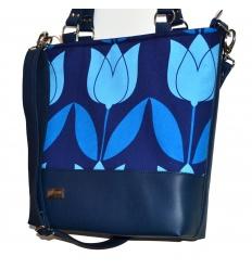 Kabelka Roda Blue Tulip